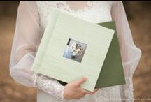 Woodland Albums / A softer approach to the classic album. Beautiful silk, linen, and canvas cover options,  with fine art paper pages (a deep grain and heavy paperweight). This paper compliments soft,  pastel, environmental portraiture really well. This hand-crafted album is delivered with a  matching album box, a center cameo cut-out is available (as well as imprinting on cover).