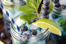 Bottoms Up! / Alcoholic & Non - alcoholic drink ideas / by Kimberly