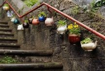 The Secret Garden / Ideas on making the most of a small space