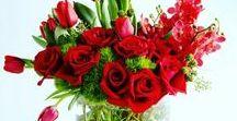Luscious Arrangements / Beautiful Arrangements by Freesia! #wedding #floraldesign