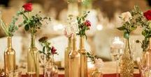 Burgundy and Blush Gold Wedding / What a beautiful burgundy and blush wedding with a little golden touch to tie it all together.  Photos by: www.shannonsklossweddings.com  Cake by: www.deliciouscakes.com Venue: www.ashtongardens.com/wedding-venue-in-dallas-tx/ Wedding coordinating: www.mycreativetouchevents.net