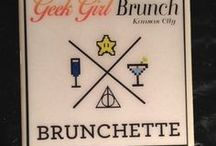 Geek Girl Brunch Meetup / Ideas for DIY decorations, swag, and casual cosplay.
