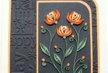 Cards / Ideas for making cards. Some beautiful designs! / by Jeanie Mundy
