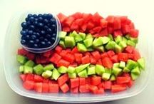 4th Of July Food / 4th of July patriotic food - decor - fun for Independence Day party!