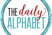 The Daily Alphabet / Welcome to all things The Daily Alphabet!