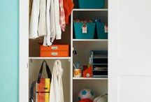 Organizing: Bedroom & Closets