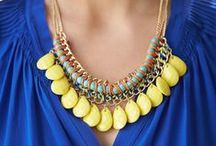 Accessories / Take your look from simple to chic with the addition of a statement necklace or a colorful scarf. Here are some inspiring ways to accessorize from the office to date night & beyond. Sharing your favorite accessories helps your Stylist get to know you better. Pin what you love below to get more personalized Fixes. / by Stitch Fix