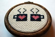 Cross stitch and embroidery  / I want to try these