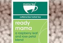 RASPBERRY LEAF TEA / Mama Tea has made the tastiest red raspberry leaf tea - Ready Mama! Perfect for mamas-to-be from week 38+ of pregnancy!