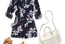 Spring Resort Wear / Travel & relax in style with these effortless looks, perfect for your next beach gateway. Sharing your favorite outfits helps your Stylist get to know you better. Pin your favorite beach looks below, then link your board to your Style Profile for more personalized Fixes.