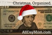Christmas Gifts, Budget, Ideas! Christmas, Organized. / Christmas, Organized. Have a Cheap, Fun, Organized Christmas at All Day Mom! Subscribe now to get a free printable Christmas budget planner! 7 week plan to keep Christmas organized!
