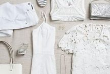Summer Whites / Sorry color, we're taking a little break. White-on-white is crisp, clean & sophisticated. Did you know adding a Pinterest board helps your Stylist get to know you better? Create a board, then pin the outfits you love below! / by Stitch Fix