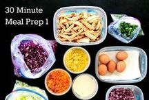 Meal Prep and Menu Planning / How to meal prep and Menu Planning 101 -- save money on your grocery bill and time in the kitchen by menu planning and meal prep -- bulk cooking, batch cooking, and freezer meals!