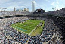 Carolina Panthers Football / by Jennifer Williams
