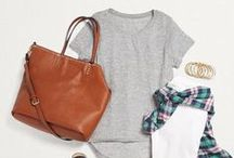 T-Shirt Style / From weekend errands to girls' night out your basic T-Shirt is a go-to for piece for style on the go. Pin your favorite looks below to share the styles you love with your Stylist. The more you share, the better your Fixes can be!  / by Stitch Fix