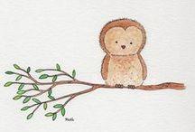owls...owls...owls ❤ / I love owls <3