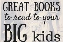 Great Books to Read to BIG Kids / Great Books to Read to BIG Kids: Get 31 of the greatest works in Western literature all kids should read and tips on reading to your kids! #write31days at AllDayMom.com
