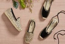 Spring Shoes / Put your best foot forward this spring. From espadrilles to the much-needed relief of a stacked heel, here are the shoes you'll love this season. Pin your favorite looks to show your Stylist which trends & styles you love.  / by Stitch Fix