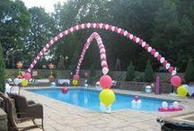Party Ideas / Birthdays. Graduation. Pool Parties. ETC.