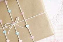 packaging and wrapping / Packaging, wrapping, dieline, gift decor