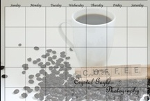 CGP Reusable Items / Erasable and reusable lists, calendars and planners created by Crystal Gayle Photography