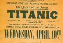 RMS Titanic / I have always been fascinated by the sinking of the RMS Titanic.  Please note, however, that I do not pin artifacts that have been retrieved from the wreck, as I feel that is a sacred site, a grave, and should not be salvaged for someone's pleasure or profit. / by Griffith Granny