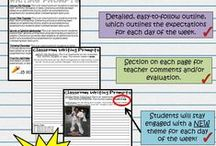 Teaching: Interactive Notebooks / For my classes
