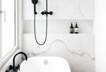Bathroom Ideas / A contemporary, tranquil space in our new home.