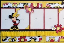 Disney Scrapbook LO's / by Lisa Darras