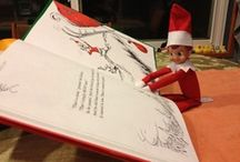 Elf on the shelf / Such good ideas. I would love to start this. Would be so much fun.
