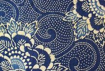 Textile design | Fabrics and patterns / Textile design, fabrics, wallpaper and more. Patterns and motifs.