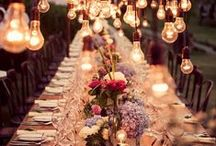 Wedding: Table Setting / by KaiLee Dunn