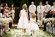 Wedding: Flower Girl & Ring Bearer / by KaiLee Dunn