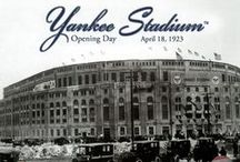 Live, breathe and bleed NYY pinstripes / by Griffith Granny