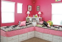 Ideas for my girls' bedrooms / by Dana Wright