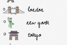 Places I'd Like to Go / by Eifel Knit