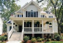House Into a Home: Outdoors & Exteriors / by Kayla Caston