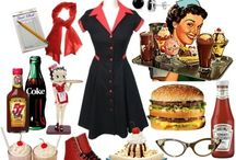 My vintage, 50s, rockabilly party inspiration