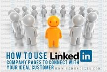 LinkedIn Marketing / Tips, strategies and resources for everything #LinkedIn #Marketing.