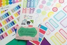 Etsy Planning Stickers / The best and most fabulous of my favorite Etsy sticker sellers.