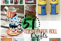 Fun Crafts for the Kiddos / EASY fun crafts for the kids to make. Perfect boredom busters, rainy day projects, or any time.