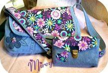 Mes créations couture / Mis creaciones costura / Des sacs à main, bolsos, portefeuilles, carteras, monederos, portemonnaies,  regalos para BB, cadeaux naissance