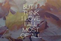 FALL. / all things october. (and september. and november.)