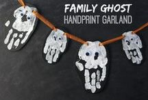 Halloween Crafts and Foods / Spooky fun crafts and foods everyone will love for Halloween.