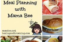 Menu Planning / by Shanaka @ Mama Bee Does