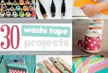 Washi Tape Projects / The world would be a better place if it were held together with beautiful washi tape!