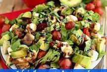 Super Salads & Sandwiches