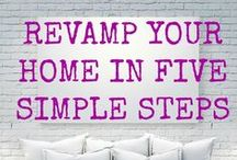 Patterns for the Home / Helping sew-ers get inspired...here is a selection of Simplicity lifestyle pictures, all featuring Simplicity patterns