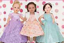 Doll's Costumes / Dress up your precious collection of dolls with this fabulous selection of patterns from Simplicity  www.simplicitynewlook.com