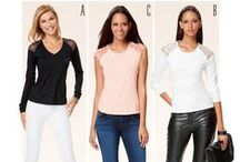 Top Patterns / From shirts and blouses to comfy vests, Simplicity's stunning collection of top patterns are suitable for all figures, and all occasions! www.simplicitynewlook.com